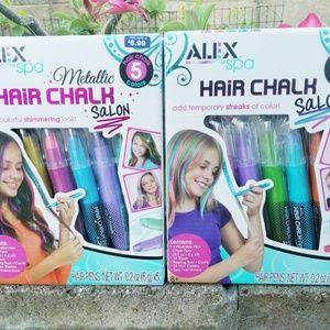 Alex Hair Chalk Salon Set